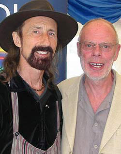 Photo of Arthur Brown & Bob Harris
