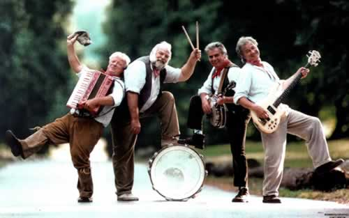 The Wurzels - Band Line Up